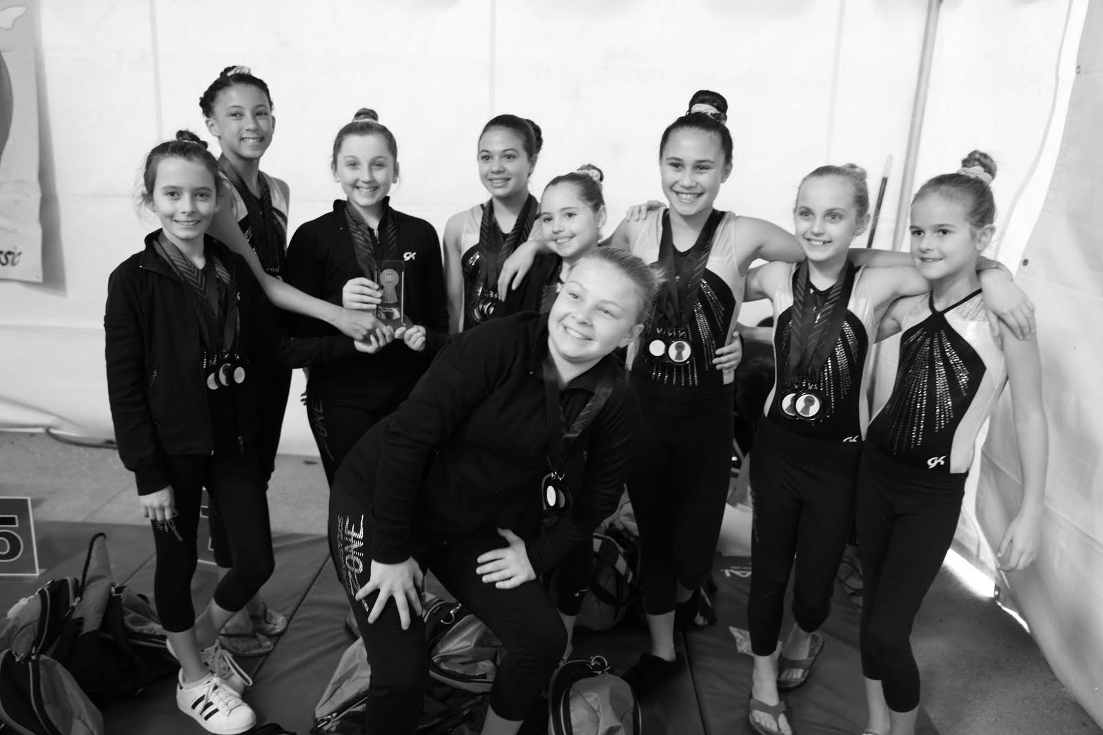 2016 Xcel Bronze Team