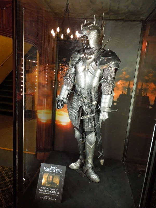 Sharlto Copley King Stefan Maleficent battle armour
