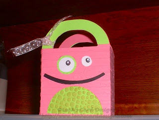 Mini Monster Treat Bag
