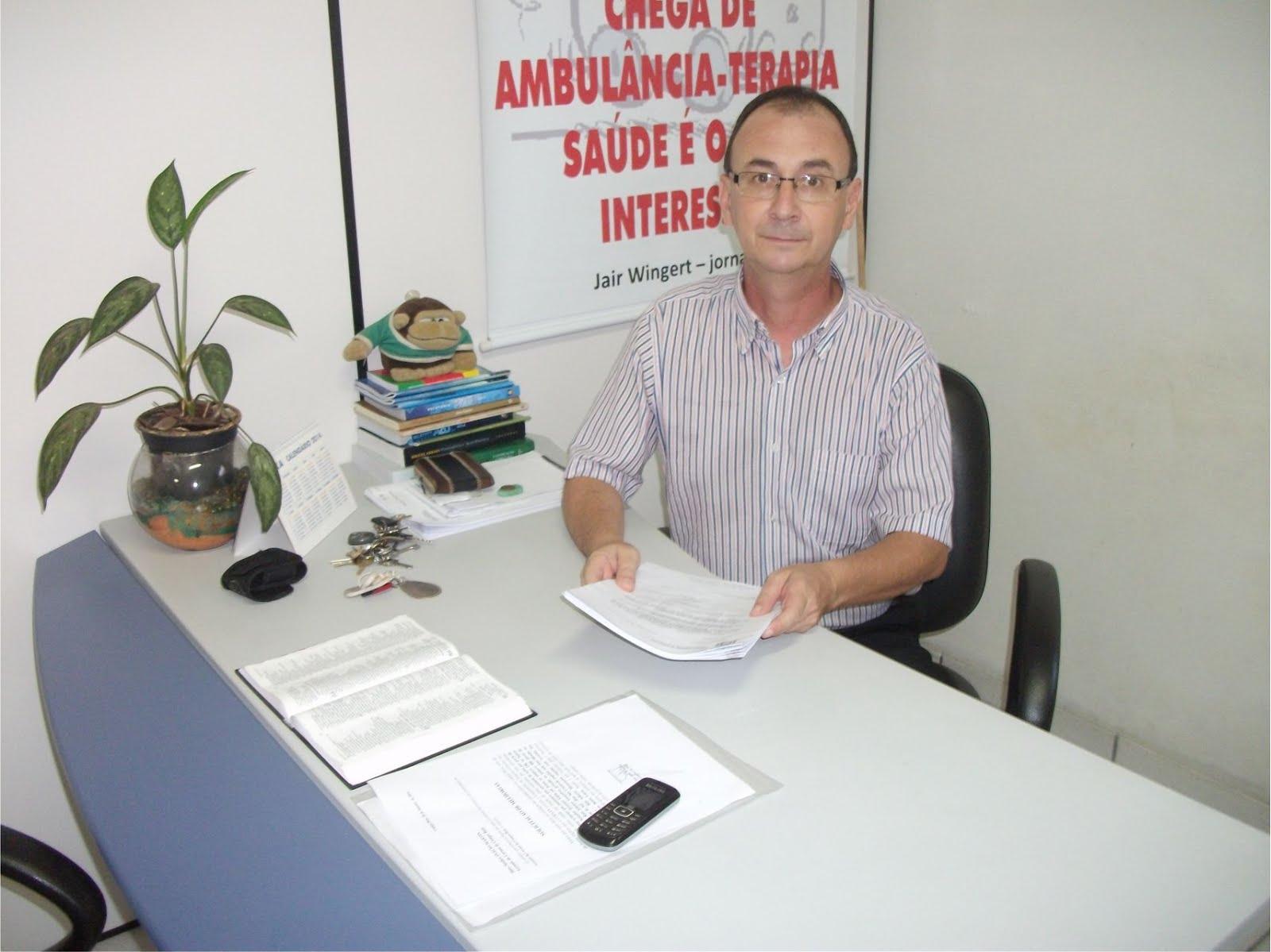 JAIR WINGERT DEFENDE O FIM DO SEMIABERTO