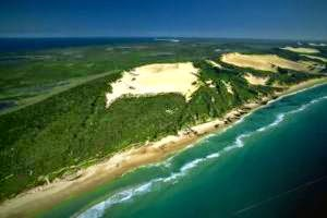 east coast of Fraser Island