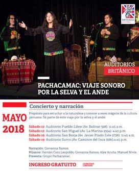 SAB 12 y 19 MAYO / CUENTOS MUSICALIZADOS