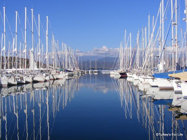 Fethiye Marina, Turkey