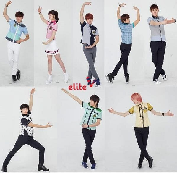 Infinite and Juniel are cute together in BTS clip for Elite