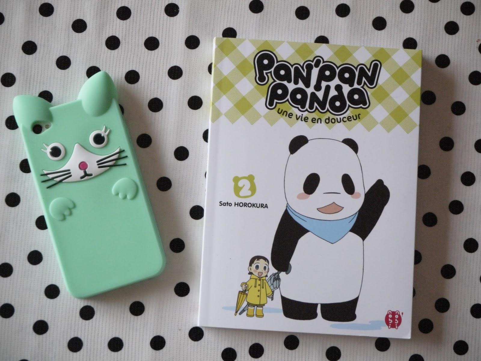 pan'pan panda manga 2