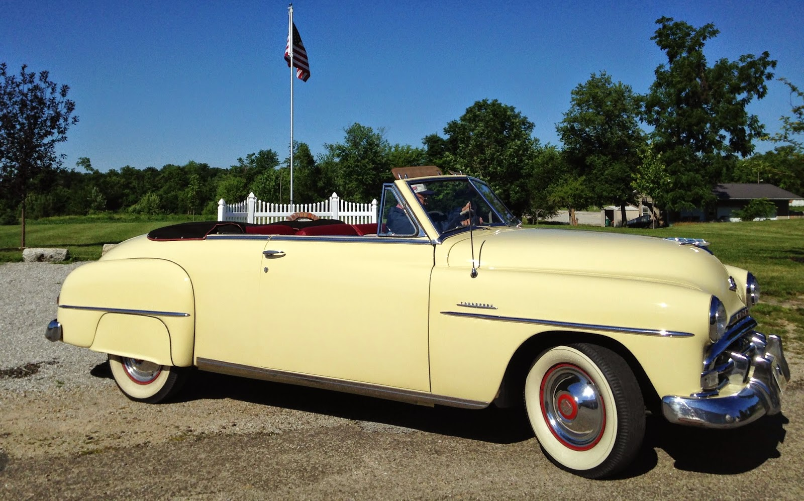 Plymouth Owners Club Hoosier Region Members Cars 1948 Business Coupe Jack Lindas 1951 P23 Cranbrook Convertible