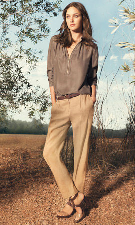 Massimo Dutti primavera 2013 moda mujer pantalones