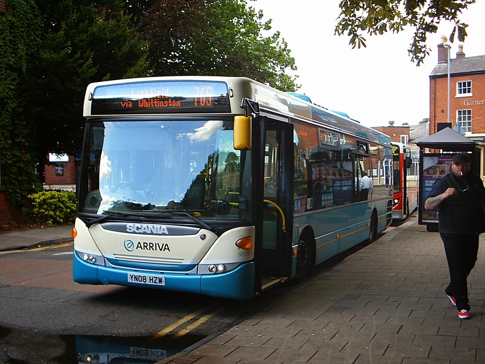 Mattybuzz Trip to Tamworth Whittington 23082014