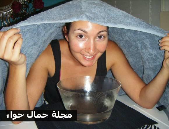 5 خطوات لعمل بخار الوجه المنزلى لتنظيف البشرة