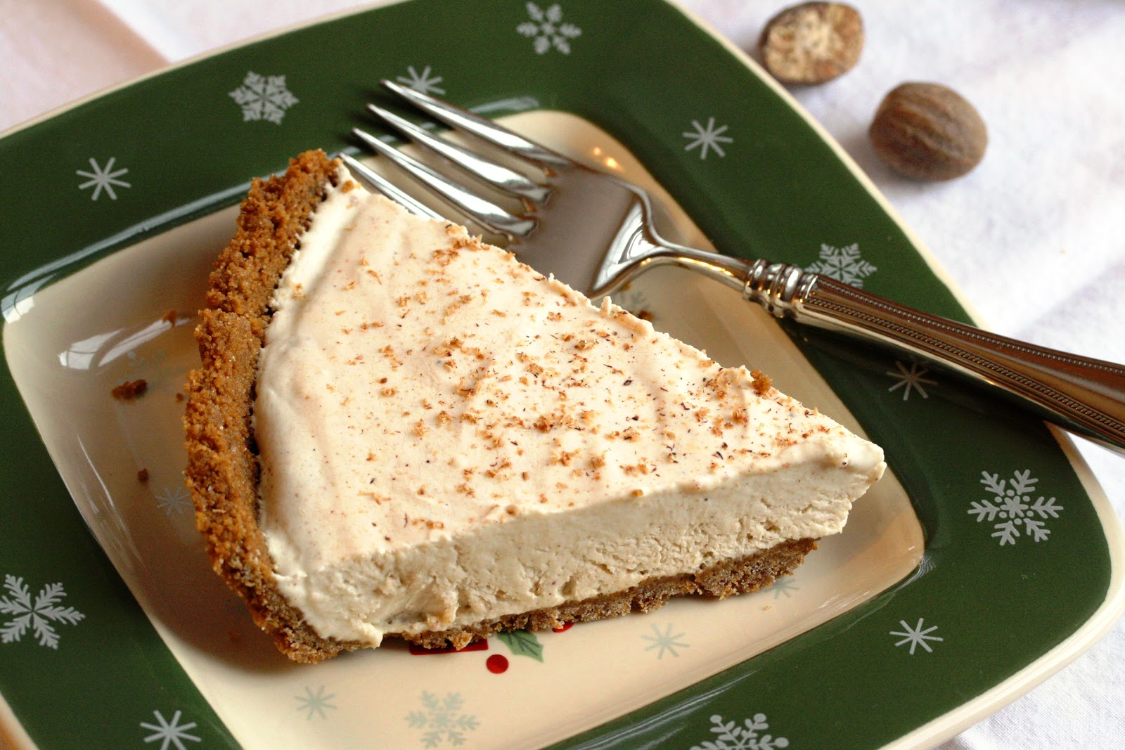 No. 51 - Egg Nog Pie with a Ginger Snap Crust - Saving Room for ...