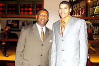 Tennessee Vol Tobias Harris' father is a tiger dad.