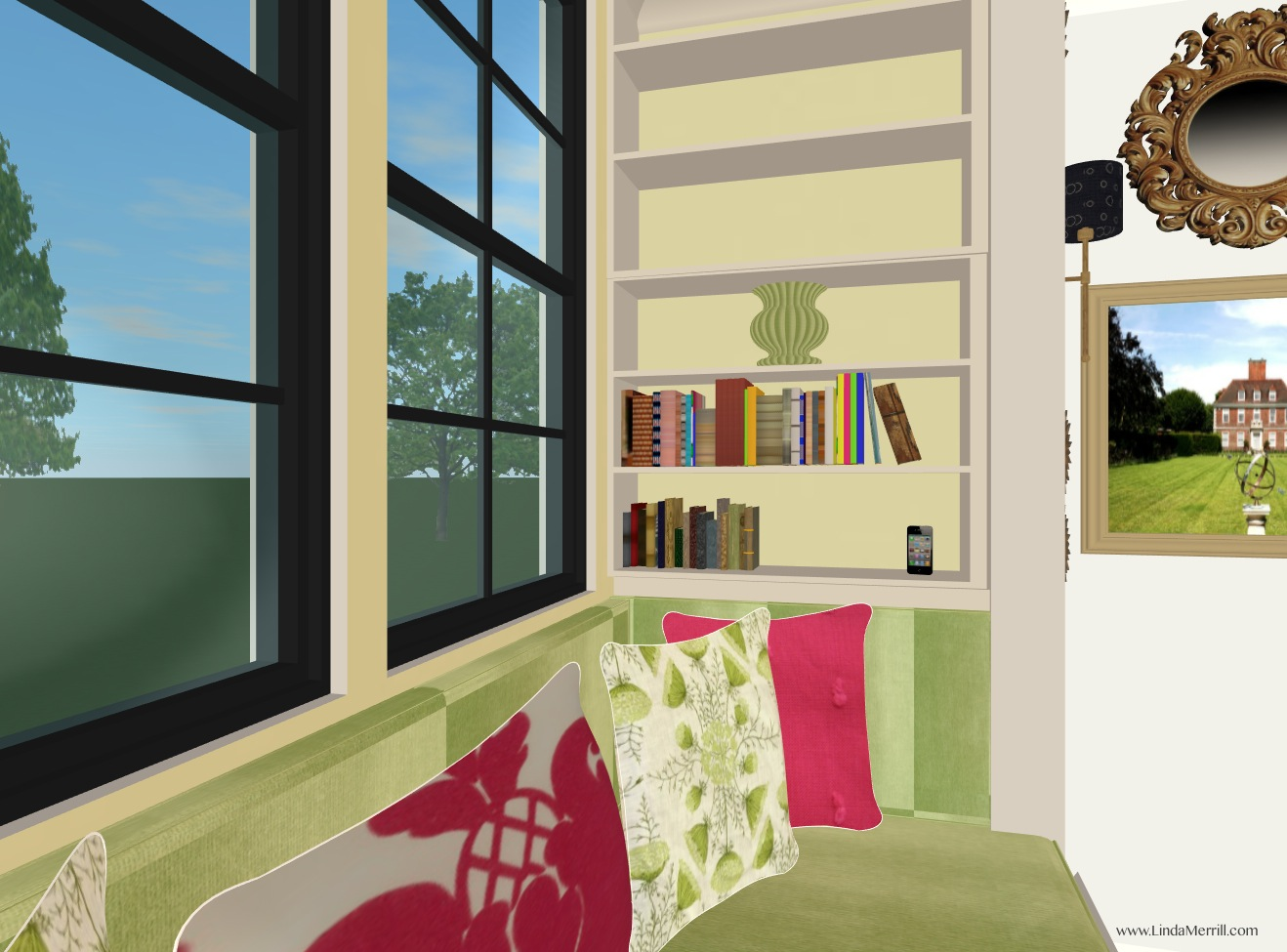 Linda 39 s dream house window seats and how green is my for Window you can sit in