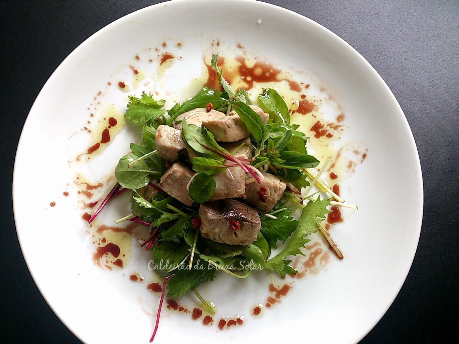 Conserva de atum fresco em azeite com ervas
