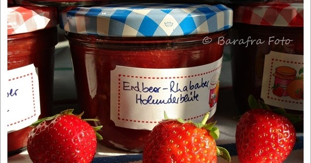 barafras kochl ffel erdbeer rhabarber holunderbl ten. Black Bedroom Furniture Sets. Home Design Ideas