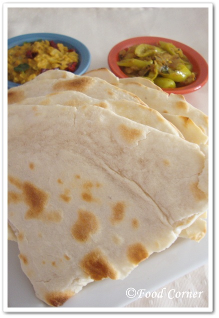 Indian Roti Recipe with All Purpose Flour (Indian Flat Bread)