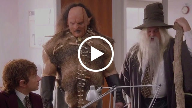 The Hobbit, The Office, Middle Earth, Saturday Night Live