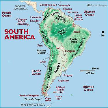 Generalities Of The Americas Blog Major Landforms Of