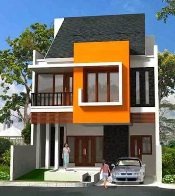desain rumah minimalis modern 2 lantai 2014