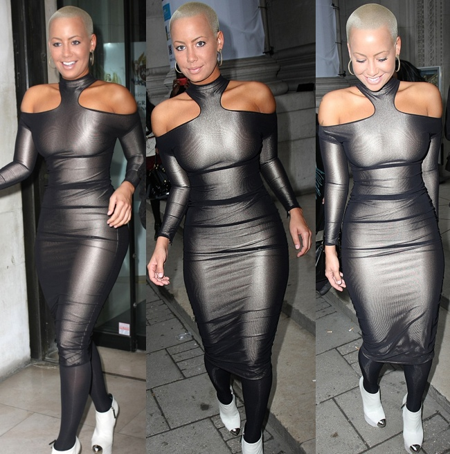 is wiz khalifa and amber rose dating. Amber Rose was spotted across