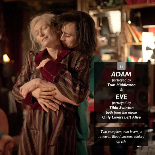 Adam and Eve from Only Lovers Left Alive
