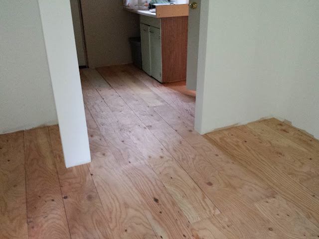 Plywood Floor Experiment - deeAuvil Blog