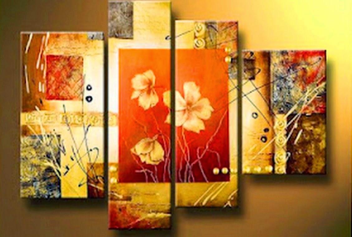 Cuadros modernos pinturas y dibujos cuadros tr pticos for Cuadro en lienzo modernos