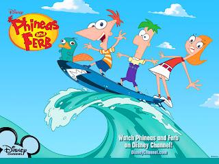 Fondo de pantalla de Phineas y Ferb