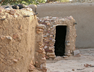 Menstrual Hut Esta se encuentra en Mali. Africa