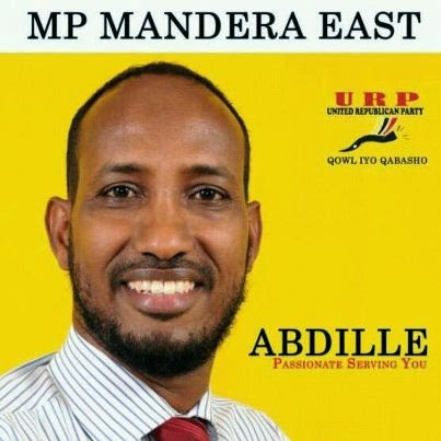 HON. ABDILLE -MANDERA EAST MP