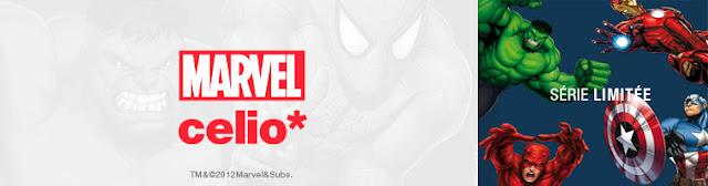 Les héros Marvel s'invitent chez Celio !