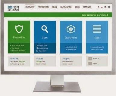 Emsisoft Anti-Malware Free 9.0.0.4799 Free Download