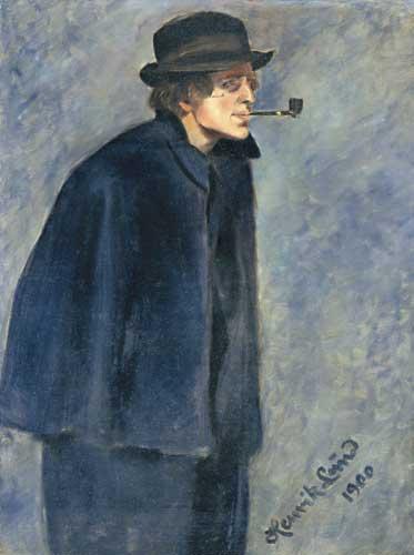 Portrait of Nikolai Astrup by Henrik Lund circa 1900. Image: WikiMedia.org.