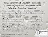 Manejo de Liquidos y Electrolitos.