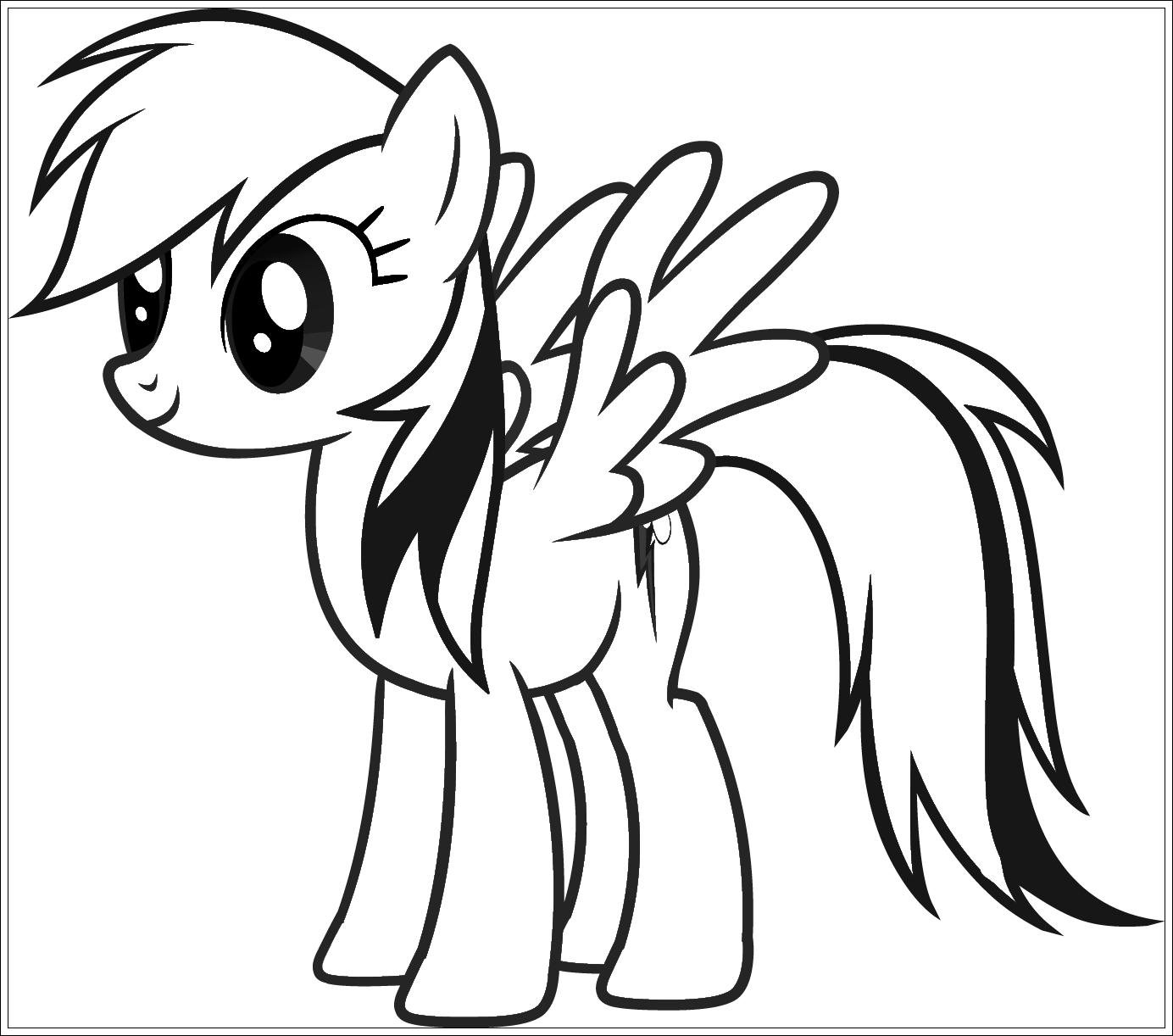 Atemberaubend Malvorlagen Kleines Pony Fotos Malvorlagen Von