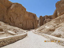 Valley of The Kings (underground limestone Royal Burial Vaults), Egypt