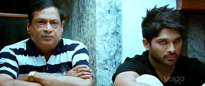 Screen Shot Of Dangerous Khiladi (2012) Dual Audio Movie 300MB small Size PC Movie