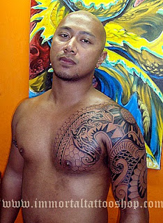 Filipino Tribal Tattoos on Filipino Tribal Tribal Tattoo Custom Filipino Tribal Tattoo Freehand