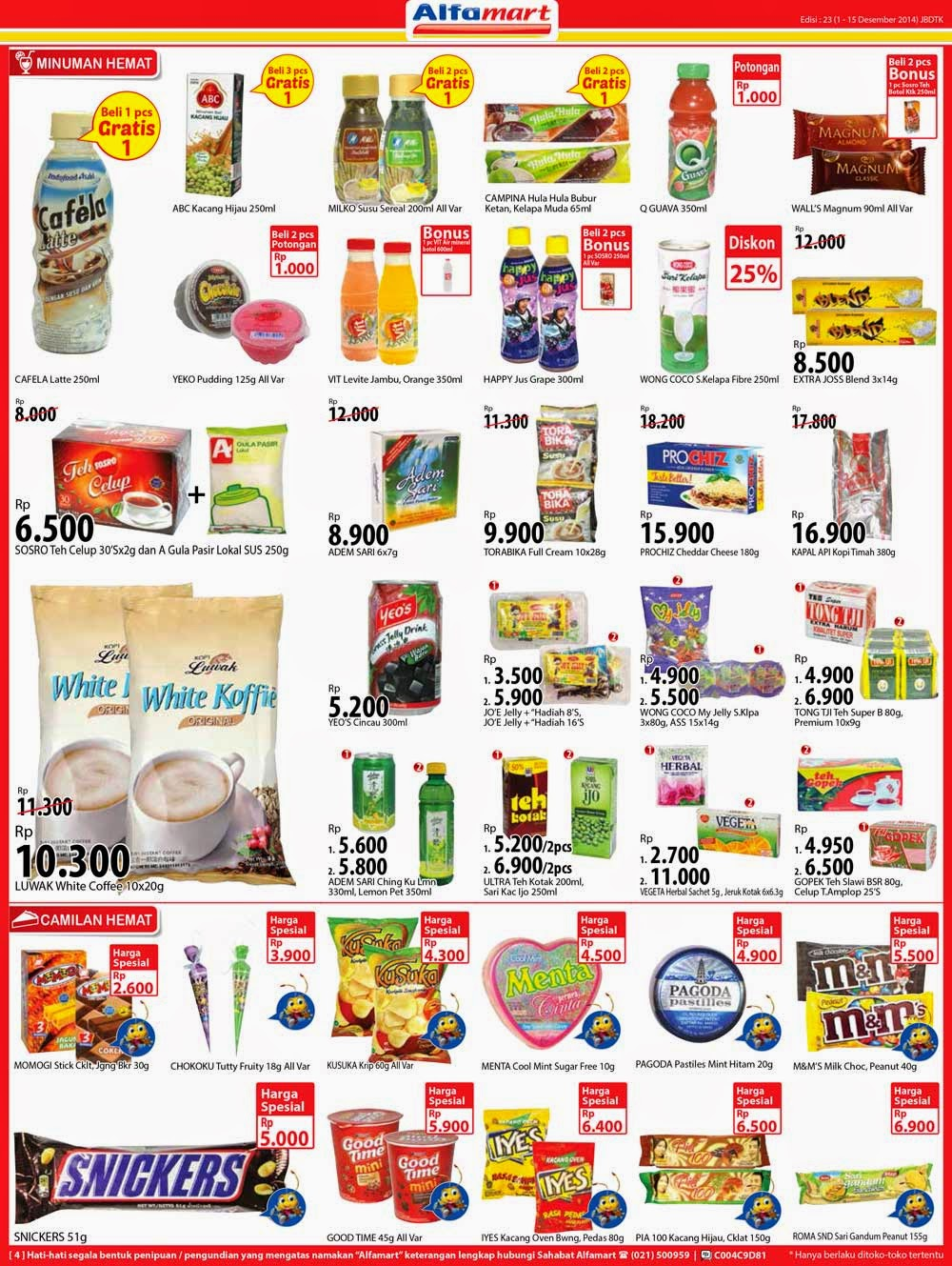 Katalog Promo Alfamart Terbaru 1 15 Agustus 2016