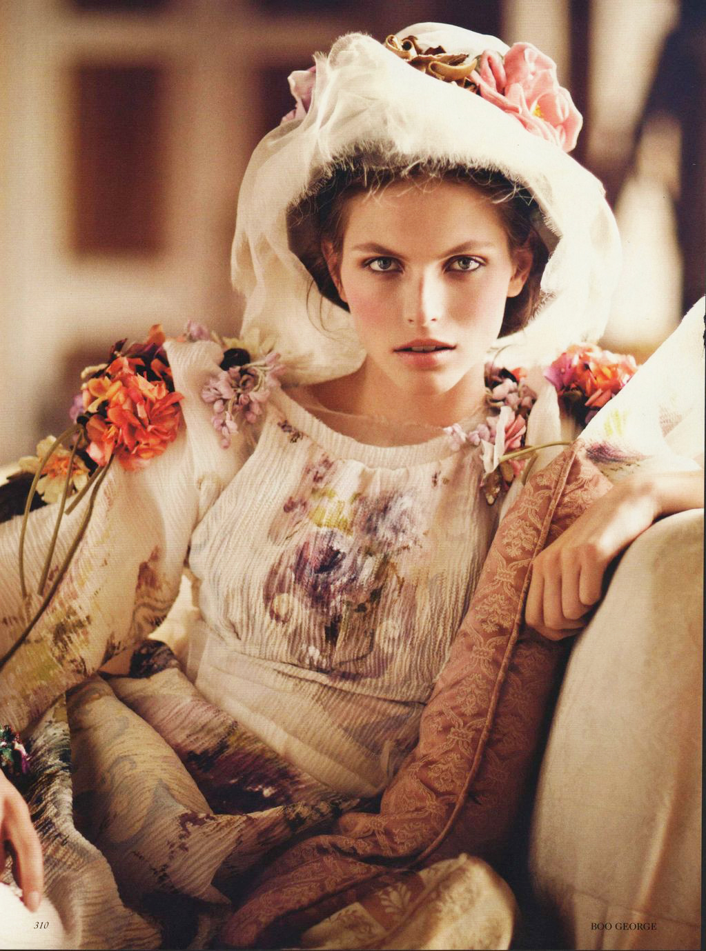 via fashioned by love   Vogue UK October 2012 (photography: Boo George, styling: Charlotte Pilcher)