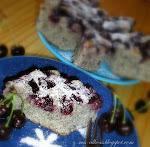 Meggyes- mákos süti