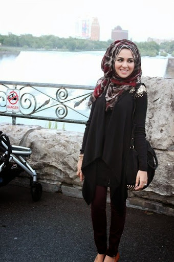 Trend Model Busana Hijab Casual Remaja Terbaru 2017 2018