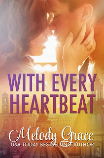 Cover Reveal: With Every Heartbeat by Melody Grace