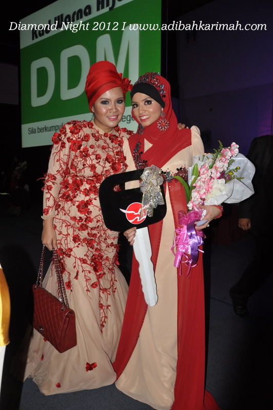 Diamond Night Dinner Award at MIECC for premium beautiful top agents with cdm hanis haizi