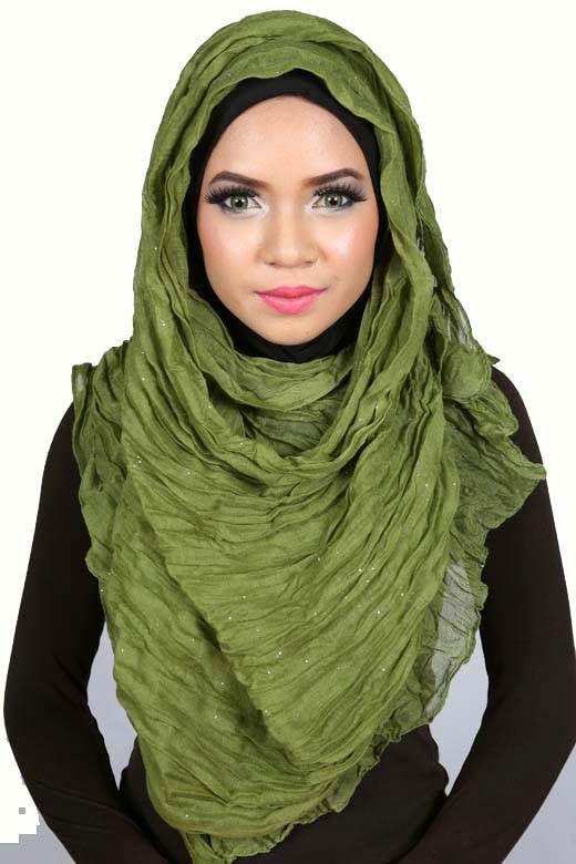 Voile hijab moderne