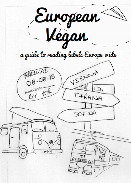 TRAVELLING TO EUROPE? CHECK OUT MY LABEL READING ZINE.
