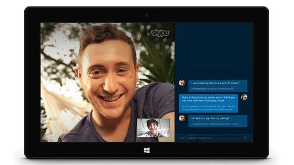 سكايب تطلق النسخة التجريبية من Skype Translator