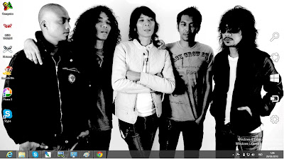 Tema Slank Band Terbaru Untuk Windows 7 Dan 8