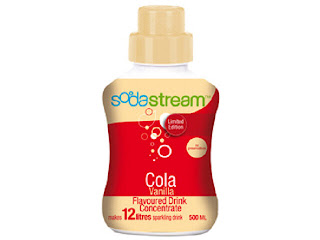 sodastream, vanilla coke