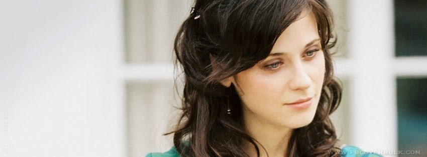 Zooey Deschanel Fresh Facebook TImeline Cover