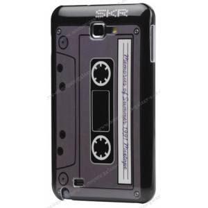coque rétro cassette audio